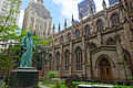 NYC - Trinity Church - Watts statue.JPG