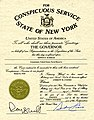 NY Conspicuous Service Certificate - Edwin Foresman Schoch.jpg