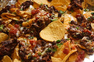 Nachos with Chilli