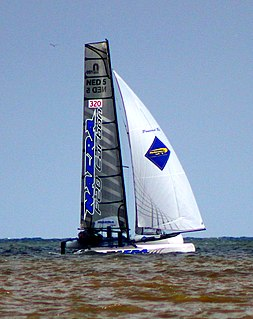 Nacra 20 Sailboat class