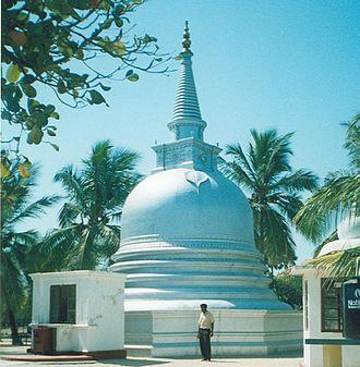 Buddhism amongst Tamils - Image: Nainathivunakavihara i 2