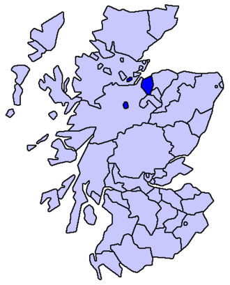 County of Nairn - County of Nairn, To 1891