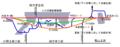 Nakayama tunnel second route change map ja.png