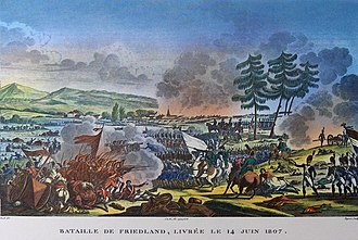 Imperial Russian Army - The Battle of Friedland, 1807