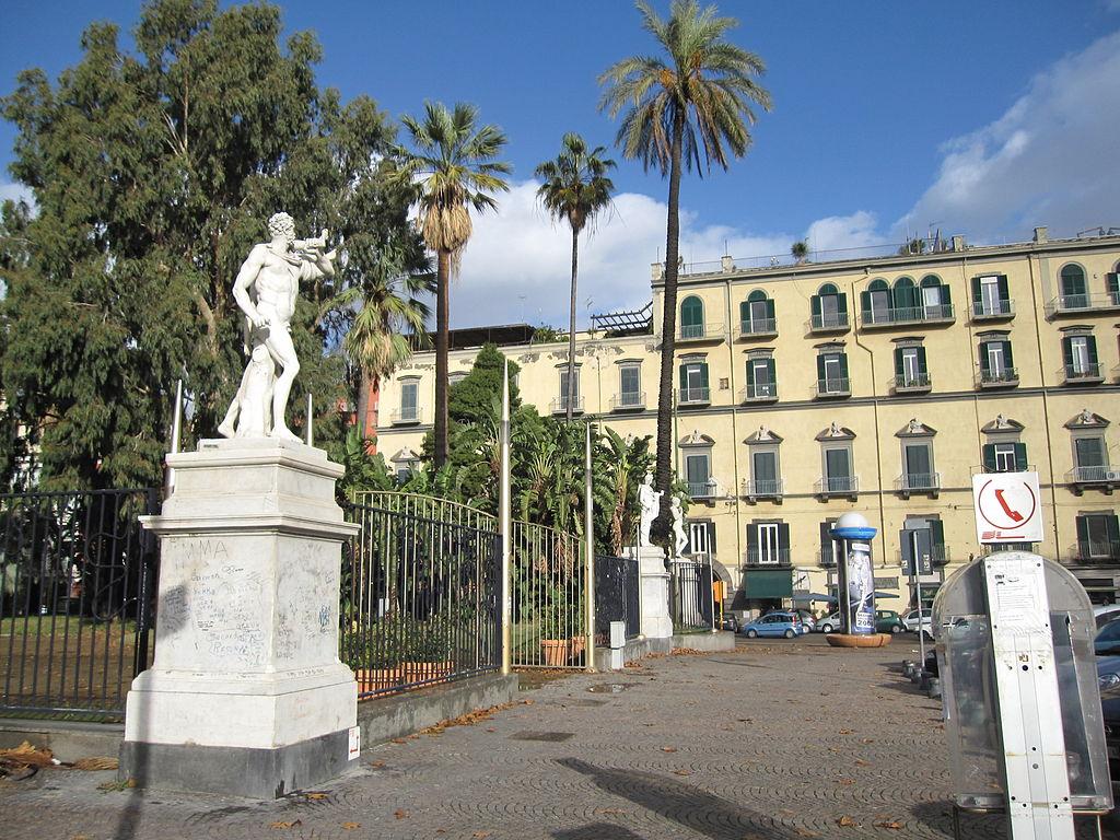 Villa Vittoria Napoli Parcheggio
