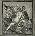 Napoli Museo Nazionale Venere e Marte affresco di Pompei.jpg