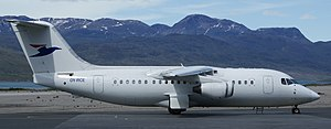 Narsarsuaq Airport - Atlantic Airways connected Narsarsuaq with Iceland