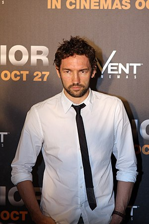 Nash Edgerton - Edgerton at a Warrior premiere on 16 October 2011