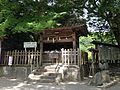Nassho Hall for old ofuda in Oasahiko Shrine.JPG
