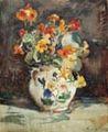 Nasturtiums in a Vase 1919 Frank Weston Benson.jpg