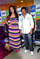 Nathalia Kaur and RGV promote Department film at Radio City FM (5).jpg