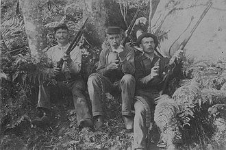 Leper War on Kauaʻi - Soldiers of the Provisional Government.
