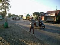 National road in Mamburao, Occidental Mindoro.jpg