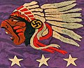 Native Americans as logo art with non-Nazi swastika, from- LAFAYETTE ESCADRILLE banner (cropped).jpg