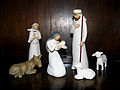 Nativity scene on the the Welsh dresser... (3098003873).jpg