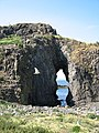 Natural arch, Fidra - geograph.org.uk - 1364110.jpg