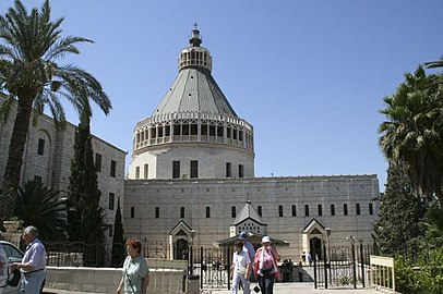 Nazareth-01-The Basilica of the Annunciation