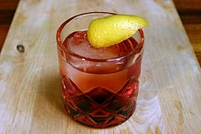 Negroni on the rocks