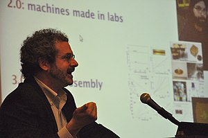 Neil Gershenfeld - Neil Gershenfeld as keynote speaker at APMM 2010.