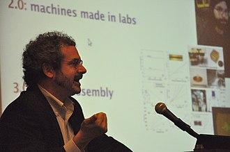 Neil Gershenfeld - Neil Gershenfeld as keynote speaker at APMM 2010.
