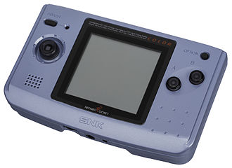 Neo Geo Pocket Color - Image: Neo Geo Pocket Color Blue Left