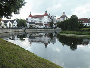 Neuburg- Castle and Donau.jpg