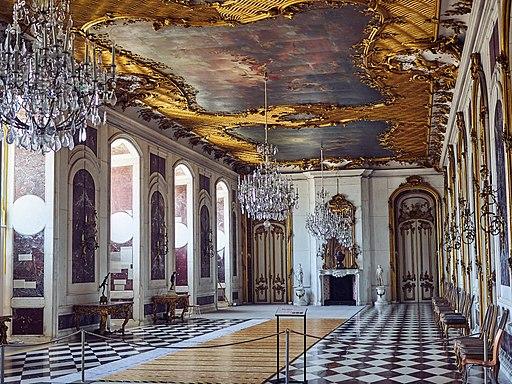 Neues Palais Innenraum, Marmorgalerie.