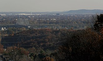 Floyd County, Indiana - Image: New Albany Viewed From Floyds Knobs