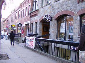 Newbury Comics - Newbury Comics' flagship store on Newbury Street in Boston, Massachusetts