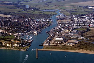 Newhaven, East Sussex town in East Sussex, England