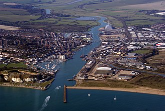 Newhaven, East Sussex - Image: Newhaven, East Sussex, England 2Oct 2011