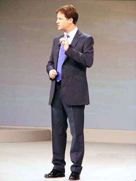 File:Nick Clegg makes the Leader's speech.jpg