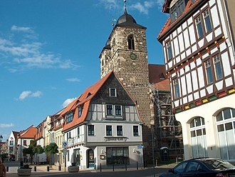 Oschersleben - Image: Nicolaikirche Oschersleben