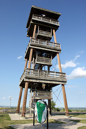 Joseph Nicollet - Nicollet Tower, located in Sisseton, South Dakota