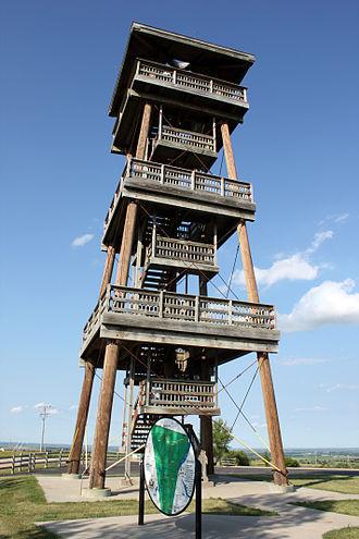 Joseph Nicollet - Nicollet Tower, located in Sisseton, South Dakota