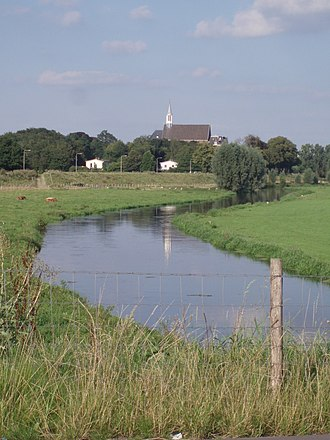 Gennep - The Niers river near Ottersum