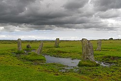Nine Stones stone circle, East Moor - geograph.org.uk - 526315.jpg