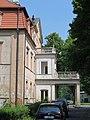 Niwnice, pałac, elewacja frontowa.JPG