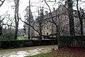 Noironte, le ruisseau en crue et le château.jpg