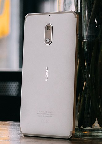 HMD Global - The Nokia 6, HMD's first smartphone and the first Google Play certified Android-powered Nokia