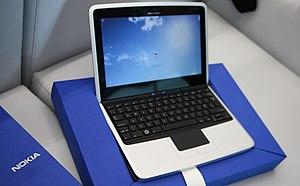 History of Nokia - The Nokia Booklet 3G mini laptop.