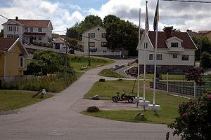 Donsö - Image: Nordövägen på Donsö 02