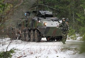 Nordic Battlegroup - Irish Mowag Piranha IIIH