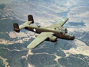 38th Bombardment Group - North American B-25C Mitchell medium bomber