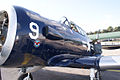 North American SNJ-4 Texan VMF-231 LNose TICO 13March2010 (14412888178).jpg