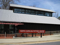 North Carolina Pottery Center in Seagrove