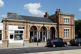 North Dulwich station, Red Post Hill - geograph.org.uk - 1435070.jpg