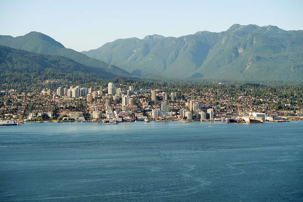 View of North Vancouver