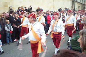 Morris dance - Horwich Prize Medal Morris Men, a North West Morris side based near Bolton