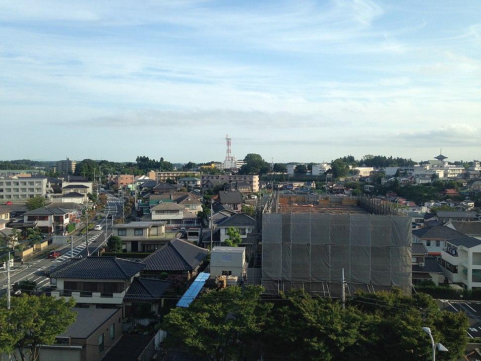 North view near Narita Station